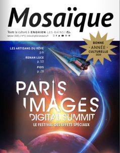 Photo de la couverture du magazine Mosaique