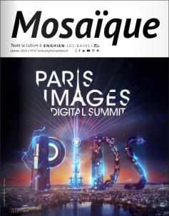 magazine municipal Mosaïque numéro 47 titre : Paris images digital summit