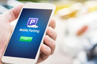 application mobile payement de parking